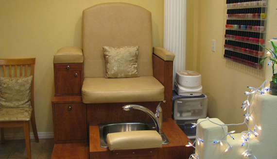 King's Pedicure Chair